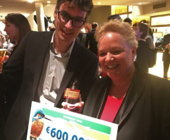 The National Postcode Lottery grants the Plastic Soup Foundation 600.000 Euros
